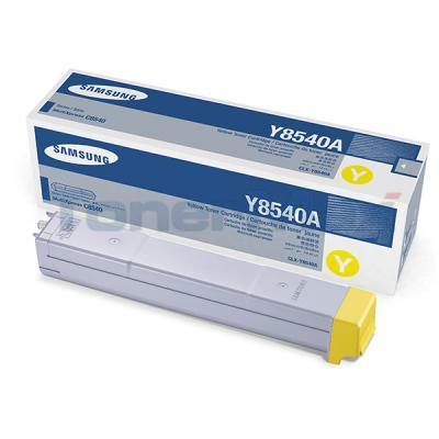 SAMSUNG CLX-8540ND TONER CARTRIDGE YELLOW